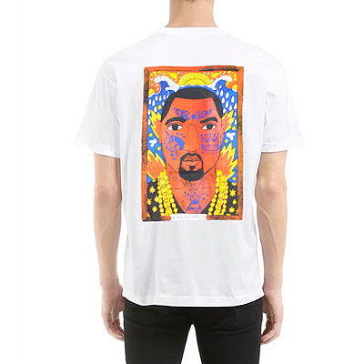KANYE BACK PRINTING T-SHIRTS(BLACK/WHITE)