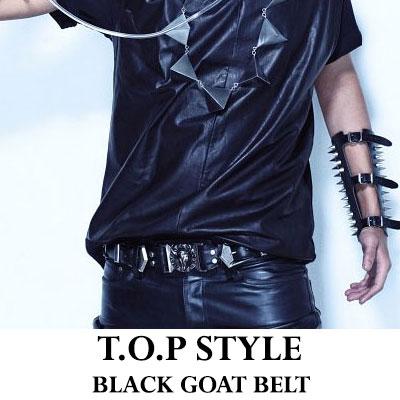 BIGBANG BLUE PV, also well that belt !!! Gee Dragon seen also TOP album jacket favorite ◆ BAL ** st Goat belt