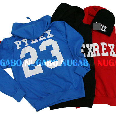 ★DAY SHIPPING★ PYREX VISION Parker & knit hat @ 3300 yen to match two points !!!!! Korea fashion mail order P.Y23