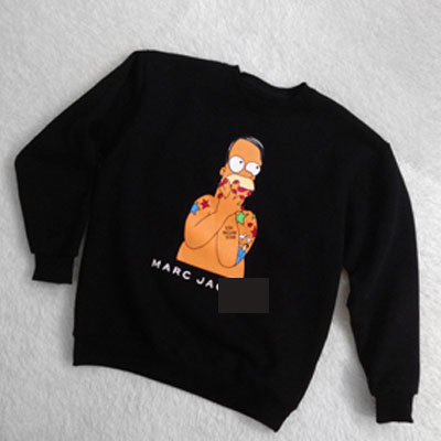 Unique and interesting ~! Simpson X designer collaboration man-to-man (unisex 5type) SimpsonXDesigner Collaboration!