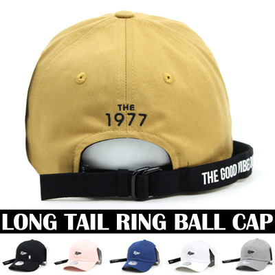 LONG TAIL RING BALL CAP(6COLORS)