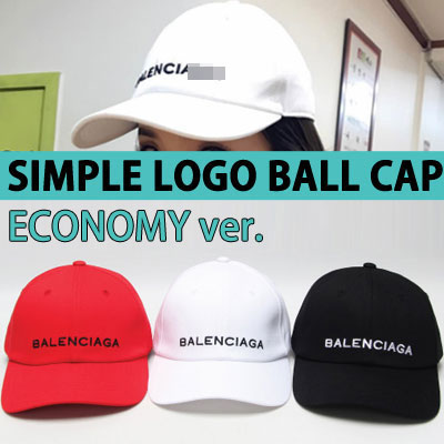ECONOMY ver. SIMPLE LOGO BALL CAP