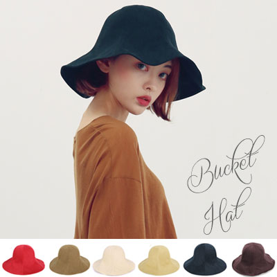 NATURAL FIT BUCKET HAT/7COLORS