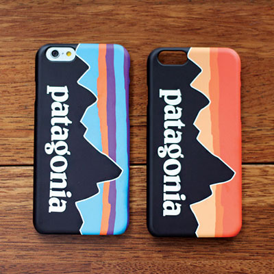 MOUNTAIN PATTERN PHONE CASE/2COLORS