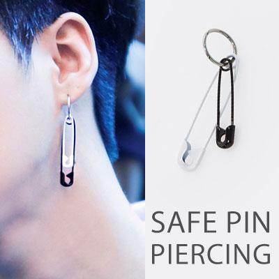 ICON st.[1ea]BLACK&WHITE SAFE PIN PIERCING