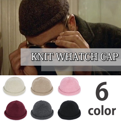 [Unisex]KNIT WHATCH CAP/LEON st.(6color)
