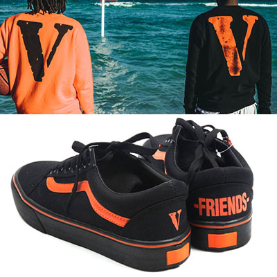 [UNISEX][22.5~28.0cm]ORANGE FREIENDS LOGO SNEAKERS