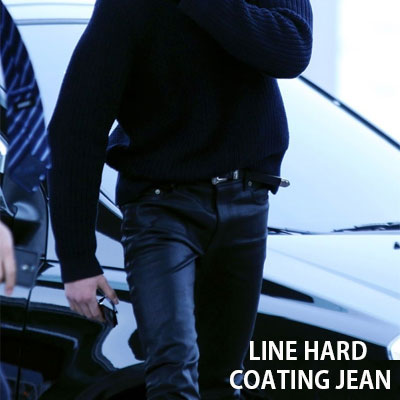 [unisex]BIGBANG GD&KANYE WEST st. LINE HARD CONNECTION COATING JEAN(3size)