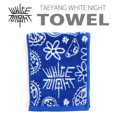 【official goods】TAEYANG WHITE NIGHT TOWEL(small size)