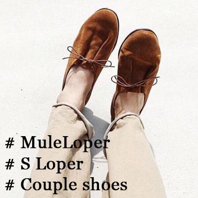 [UNISEX] [23.0~28.0cm]/SUEDE loafer