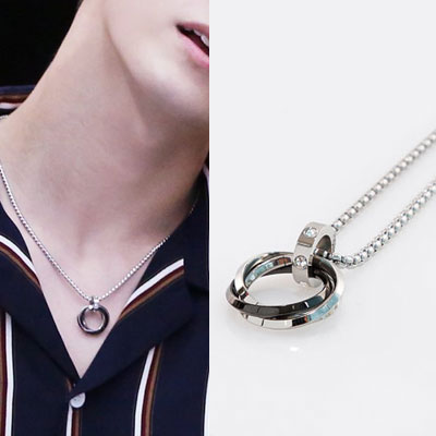 [UNISEX] WANNA ONE st.WANNA CIRCLE NECKLACE