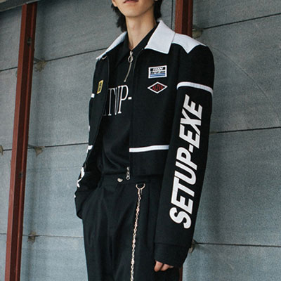 [SETUP-EXE]RACING JACKET-WHITE