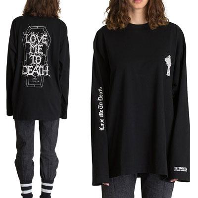 [UNISEX] VIXX ken st. CROSS&LOVE LOGO LONG SLEEVE T-SHIRTS(2color)