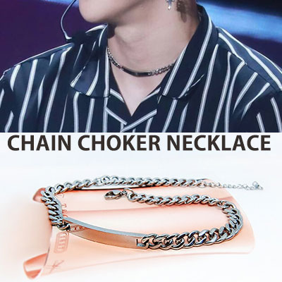 [UNISEX] WANNA ONE KANG DANIEL st. CHAIN CHOKER NECKLACE(S,M)