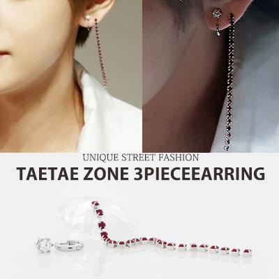 [3ea SET] BTS/TaeTae/kim taehyung/3PIECE EARRING