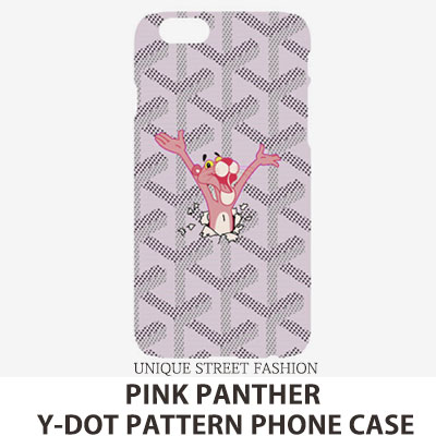 PINK PANTHER Y-DOT PATTERN PHONE CASE