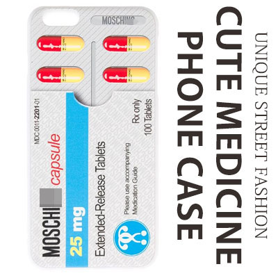 CUTE MEDICINE PHONE CASE(iPhone)