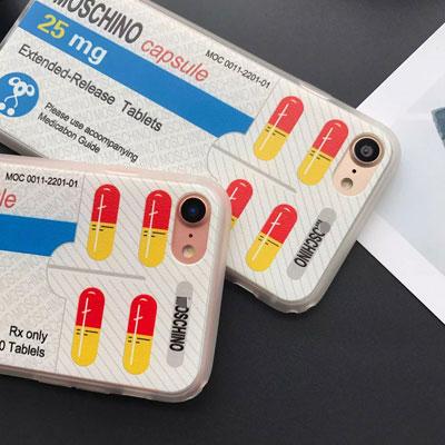 CUTE MEDICINE PHONE CASE(iPhone)