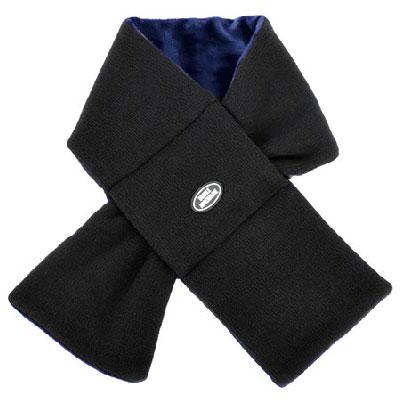 【2XADRENALINE】Reversible knit muffler  - Navy