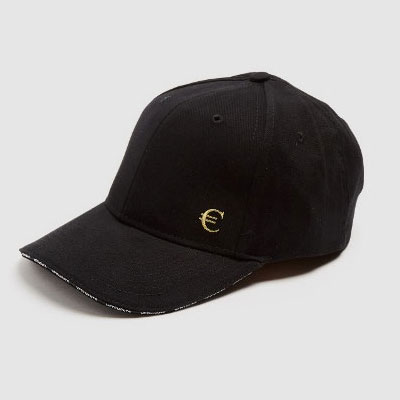 [UNISEX] GOLD EURO EMBROIDERY BALL CAP