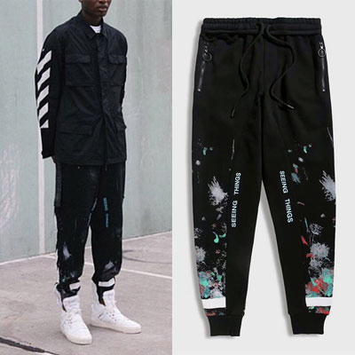 [UNISEX] PAINTING POINT JOGGER PANTS(3size)