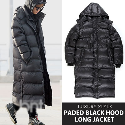 [UNISEX] LONG PADED DOWN JACKET/TWICE/REDVELVET/K-POP STAR/K-POP IDOL/