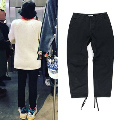 [UNISEX] BIGBANG/GD/g-dragon/STRAP POINT CROP COTTON PANTS(2size)