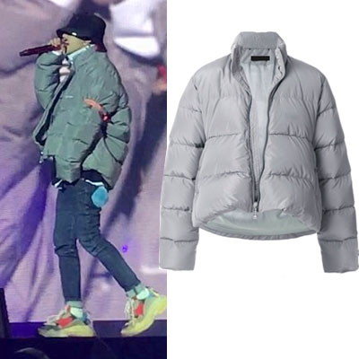 [UNISEX] BIGBANG/GD/G-dragon/C SHAPE UNBALANCE JACKET(grey ver.)