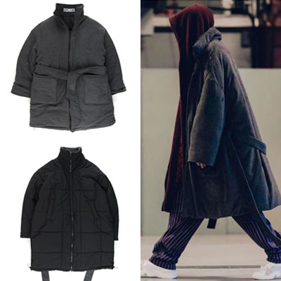 [UNISEX] REVERSIBLE WELLON PADDING COAT
