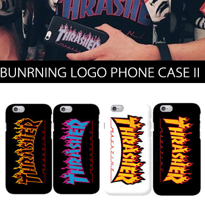 BURNNING LOGO PHONE CASE Ⅱ(iPhone,galacy,4color,3type)