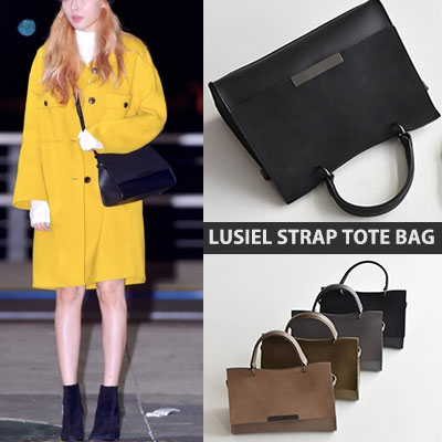 HYUNA ST.LUSIEL STRAP TOTE BAG(4color)