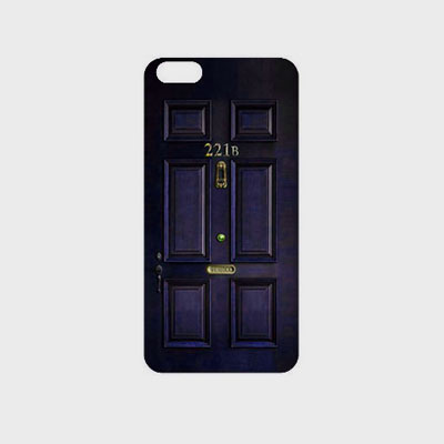 SHERLOCK 221B DOOR PHONE CASE(iPhone,galaxy)