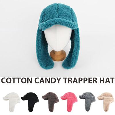 [UNISEX] COTTON CANDY COLOR TRAPPER HAT(7color)