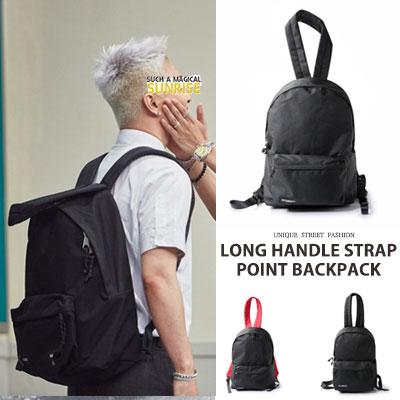 [UNISEX] BIGBANG TAEYANG/SANDARA st. LONG HANDLE STRAP POINT BACKPACK(2type,2size)