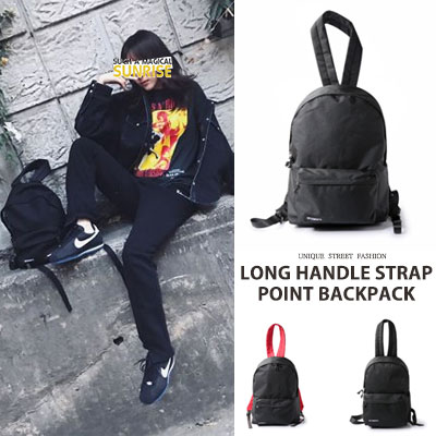 [UNISEX] BIGBANG TAEYANG/SANDARA st. LONG HANDLE STRAP POINT BACKPACK(2type,2size)