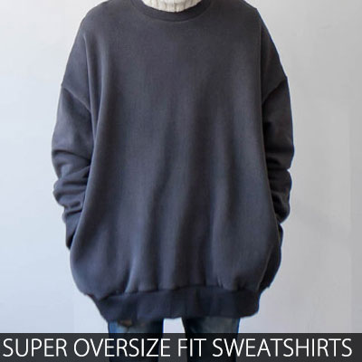 [UNISEX] SUPER OVERSIZE FIT WASHING COLOR SWEATSHIRTS(3color)
