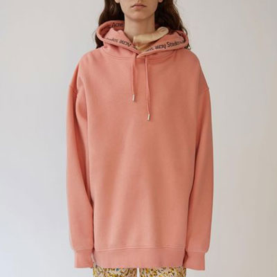 [UNISEX] HOOD LINE LOGO POINT PULLOVER HOODIE(2color,2size)