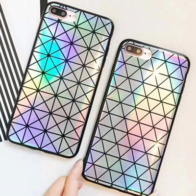 MODERN TRIANGLE PATTERN iPHONE CASE(2type)