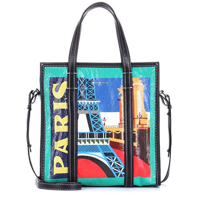 PARIS EIFFEL TOWER SQUARE SHOULDER BAG