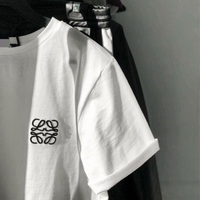 【PAPER MOON】 ROPE EMBROIDERY LOGO SHORT SLEEVE T-SHIRTS(2color)
