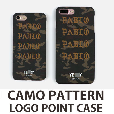 CAMO PATTERN LOGO POINT iPHONE CASE