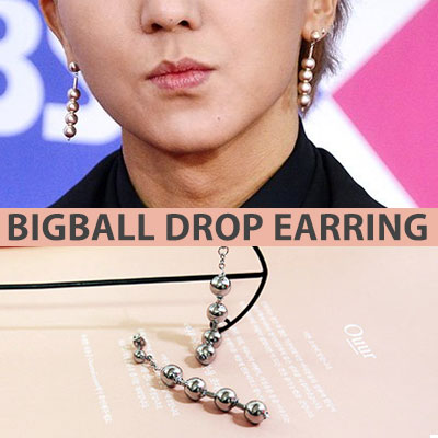 [UNISEX] WINNER MINO st. BIG BALL DROP PIERCE