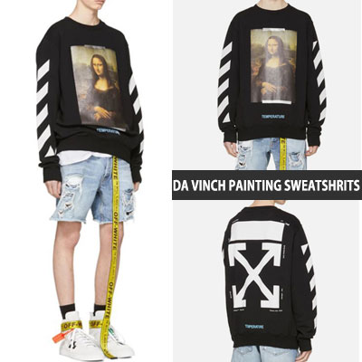 [UNISEX] DAVINCH PAINTING PRINT SWEATSHIRTS(2color)