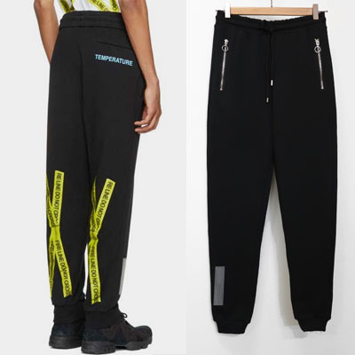 [UNISEX] YELLOW TAPE CROSS&ARROW JOGGER PANTS(3size)
