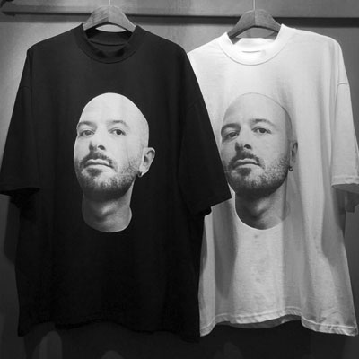 [Re-stock] MAN FACE SHORT SLEEVE T-SHIRTS