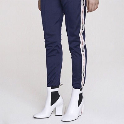 [UNISEX] SIDE LINE LOGO POINT JOGGER PANTS(2color)