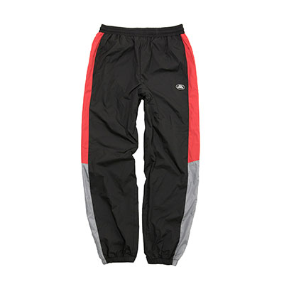 【2XADRENALINE】Retro Block Pants - BLACK