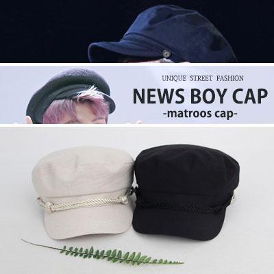 [UNISEX] BTS V & RM style. NEWS BOY CAP -matroos cap-(5color)