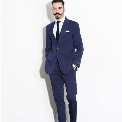 【PABLO】ROYAL SINGLE NAVY CLASSIC SUIT(5size)