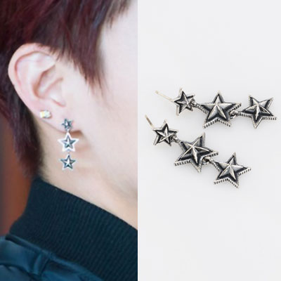 [UNISEX] GOT7 st. STAR EARRING / CUTE CHARACTER PIERCING (2type)